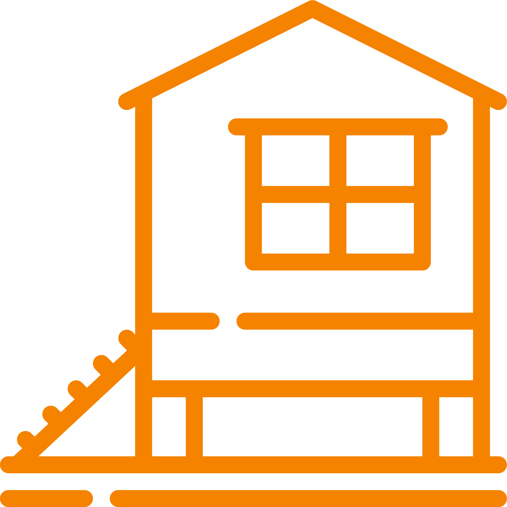 an elevated chicken coops icon
