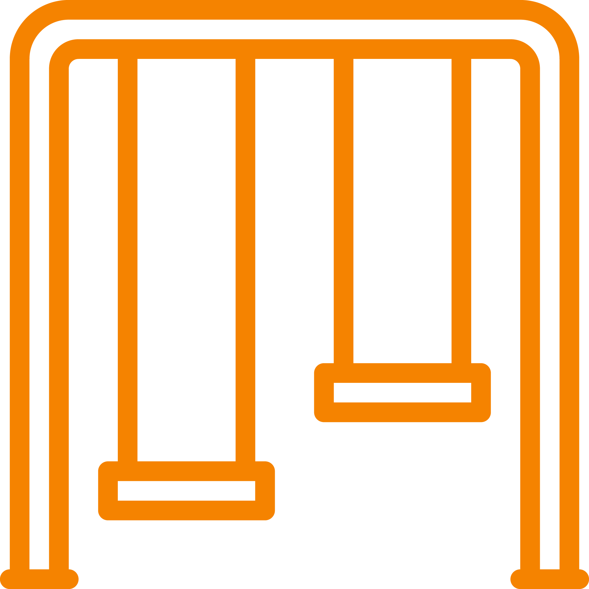 Metal Swingset Icon
