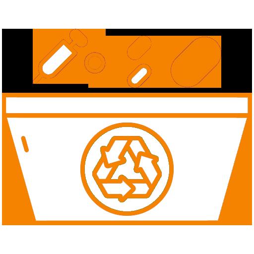 medical waste icon